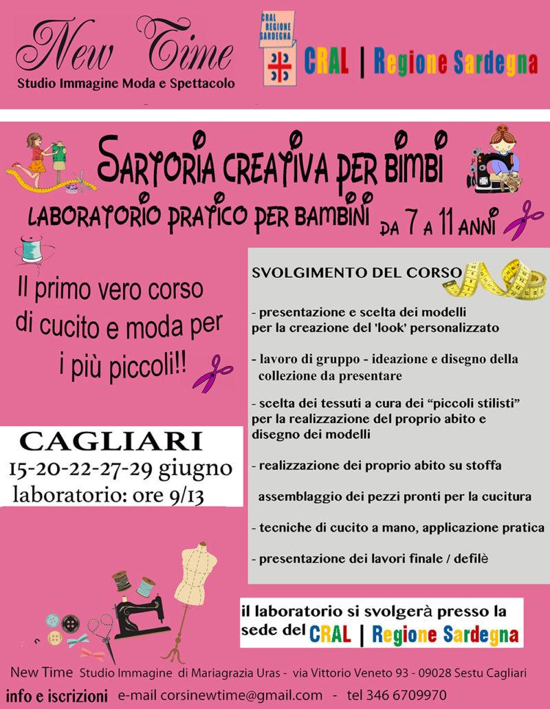 Cagliari giugno laboratorio ludico didattico e cucito creativo per ... 0bea6a8d053