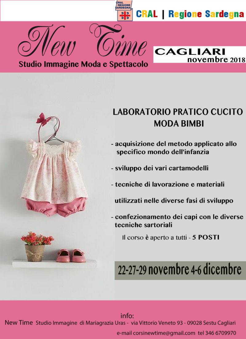corso di sartoria creativa abbigliamento per bambini Cagliari novembre  2018. LABORATORIO ... aca9c152ce0