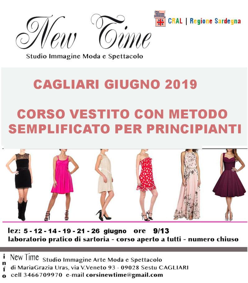 corsi cucito Cagliari realizzazione vestito per principianti